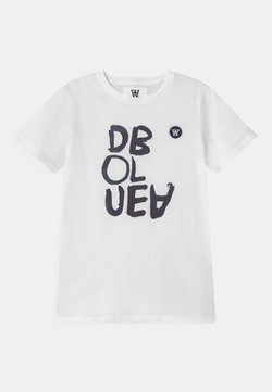 Wood Wood - OLA UNISEX - T-shirt print - bright white