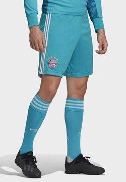 adidas Performance - FC BAYERN GOALKEEPER SHORTS - kurze Sporthose - green