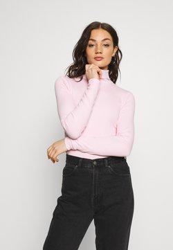 Weekday - VERENA TURTLENECK - Langærmede T-shirts - bubblegum pink