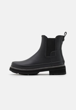 Hunter ORIGINAL - WOMENS REFINED STITCH DETAIL CHELSEA BOOTS - Kumisaappaat - black