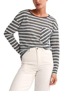 comma casual identity - Langarmshirt - black stripes