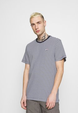 Tommy Jeans - CLASSICS STRIPE TEE - T-Shirt print - blue