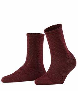 FALKE - POINTELLE - Socken - barolo