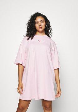 Tommy Jeans Curve - PASTEL TEE DRESS - Jersey dress - romantic pink
