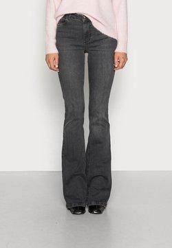 Liu Jo Jeans - BEAT - Jean bootcut - denim dark grey wash