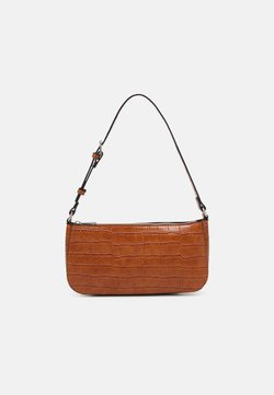 Lindex - BAG ELLA CROCO - Handbag - brown