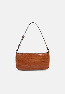 Lindex - BAG ELLA CROCO - Håndtasker - brown