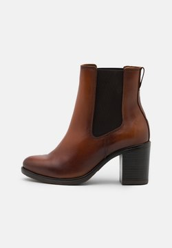 Anna Field - LEATHER - Classic ankle boots - cognac