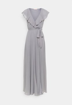 Nly by Nelly - DASHING FLOUNCE GOWN - Suknia balowa - light grey