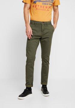 INDICODE JEANS - NORFOLK - Trousers - dark olive
