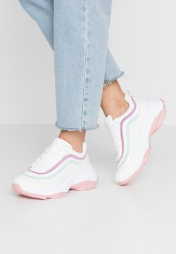 Koi Footwear - VEGAN LIZZIES - Sneakers laag - white/light pink/multicolor