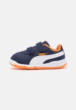 Puma - STEPFLEEX 2 UNISEX - Obuwie treningowe - peacoat/white/vibrant orange