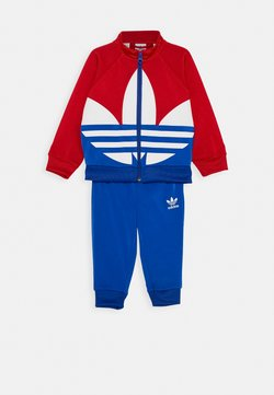 adidas Originals - BIG TREFOIL SET - Træningsjakker - scarlet/royal blue/white