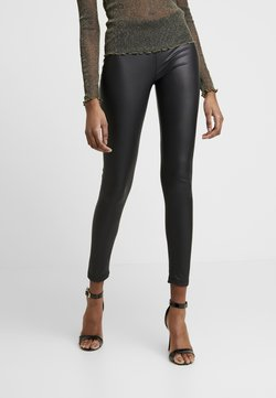 Even&Odd - Wet Look Leggings - Legging - black