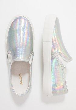 ALDO - BROARITH - Slip-ons - silver