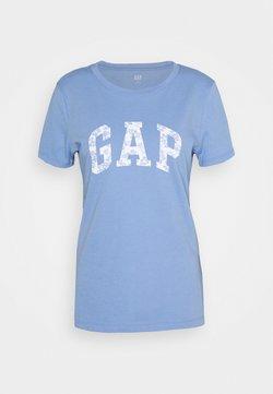 GAP - TEE - T-Shirt print - dark-blue denim