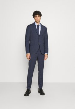 Tommy Hilfiger Tailored - FLAP FULLY LINED VENTS FLAT FRONT TROUSER SET - Anzug - blue