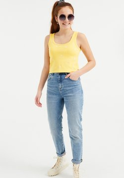 WE Fashion - Top - light yellow