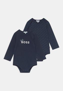 BOSS Kidswear - 2 PACK UNISEX - Body - navy