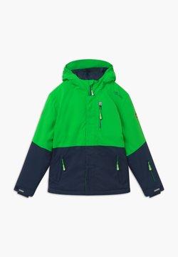 TrollKids - KIDS HALLINGDAL - Snowboardjacka - bright green/navy