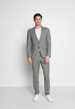 Tommy Hilfiger Tailored - FLEX MINI CHECK SLIM FIT SUIT - Anzug - grey