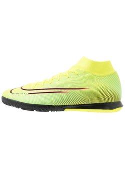 Nike Performance - MERCURIAL 7 ACADEMY MDS IC - Fotballsko innendørs - lemon/black/aurora green