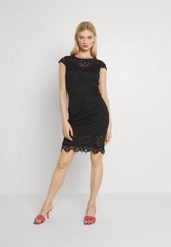 Vila - VIEDELLE CAPSLEEVE DRESS - Vestido de tubo - black