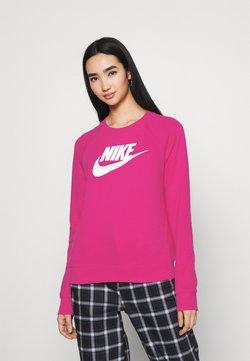 Nike Sportswear - CREW - Felpa - fireberry/white
