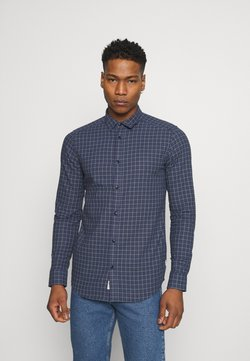 Only & Sons - ONSTONY LIFE CHECKED - Camisa - dress blues