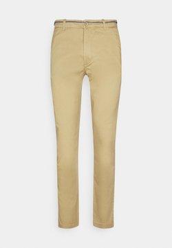 Springfield - SLIM BASICO - Chino - yellow gold