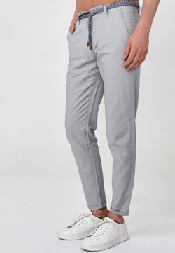 INDICODE JEANS - BRYNE - Chinot - lt grey