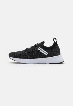 Puma - FLYER RUNNER ENGINEER - Chaussures de running neutres - black/asphalt/white