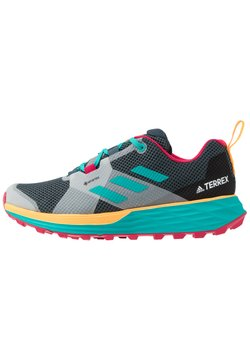 adidas Performance - TERREX TWO GORE-TEX - Laufschuh Trail - blue/solar gold
