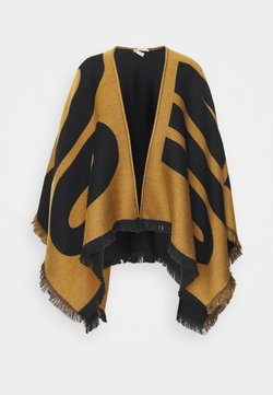Jimmy Choo - BRUSHED PONCHO - Cape - nutmeg