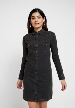 Esprit Petite - DRESS - Vestido vaquero - grey dark wash