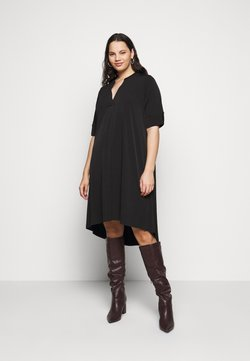 Evans - POCKET DRESS - Freizeitkleid - black
