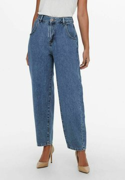 JDY - CROPPED  - Jeans relaxed fit - medium blue denim