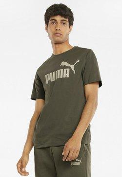 Puma - ESSENTIALS LOGO MAND - T-Shirt print - grape leaf