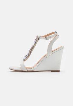 Lulipa London - LIZZIE WEDGE - Sandaletter - white