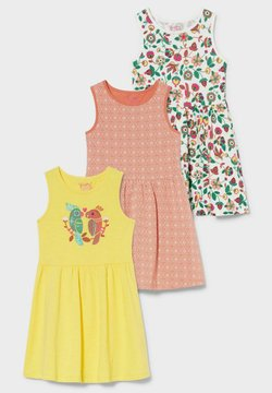 C&A - 3 PACK - Jerseykleid - multicoloured