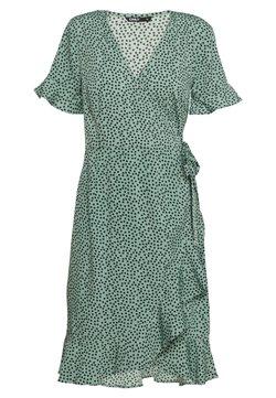 ONLY - ONLOLIVIA  - Korte jurk - green/black