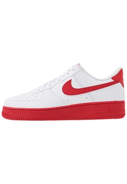 Nike Sportswear - AIR FORCE 1 '07 BRICK - Sneaker low - white/university red
