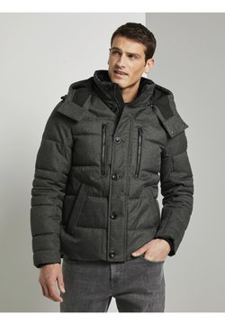 TOM TAILOR - Winterjacke - mid grey structure