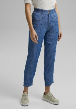 Esprit - Relaxed fit jeans - blue medium washed