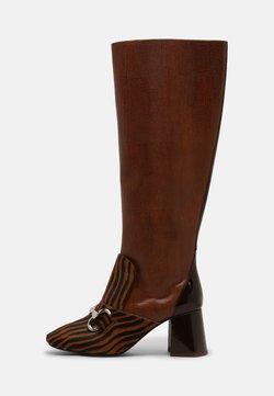 Jeffrey Campbell - DENEUVE - Boots - tan/brown/exotic