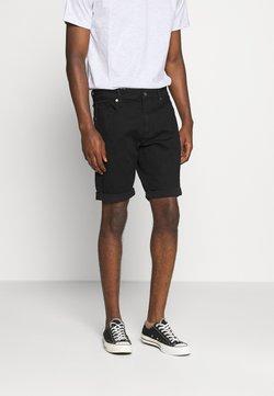 G-Star - 3301 SLIM - Jeans Shorts - elto nero black