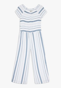 Abercrombie & Fitch - PREP SMOCKED  - Combinaison - blue