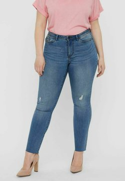 Vero Moda Curve - Jeans Skinny Fit - medium blue denim