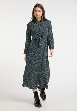 myMo - Vestido camisero - grün