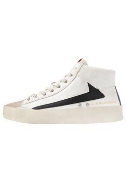 Guess - FIRENZE MID - Sneaker high - bianco/nero